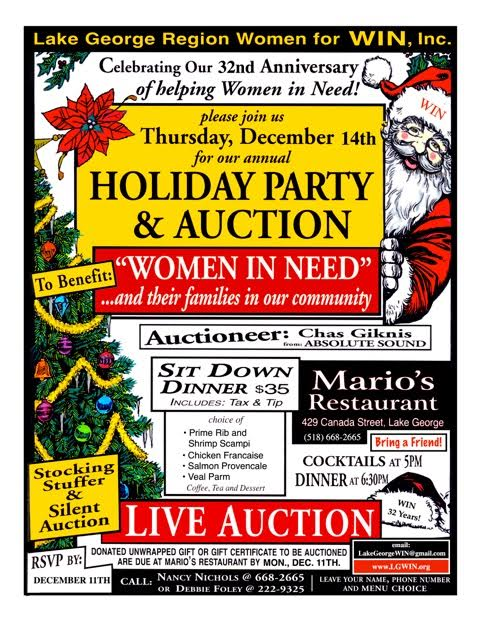 Holiday Party & Auction