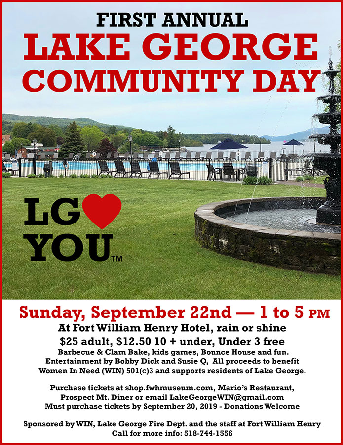 First Annual Lake George Community Day!